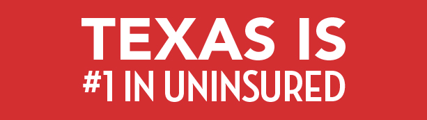 Texas Uninsured Number One